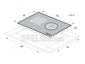 Bếp từ-Spelier-SPE-HC-928-EG